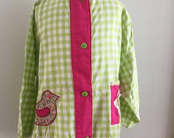 Blouse girl 6 years in cotton