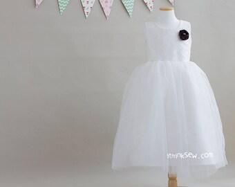 1080 Lucille Flower Girl Dress (3Y ~ 11Y) PDF Pattern