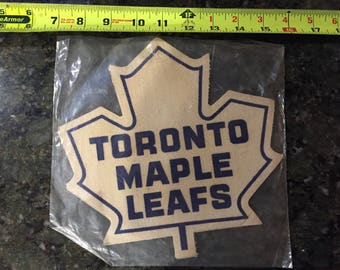 Vintage Toronto Maple Leafs Jersey Patch from the 60's or 70's