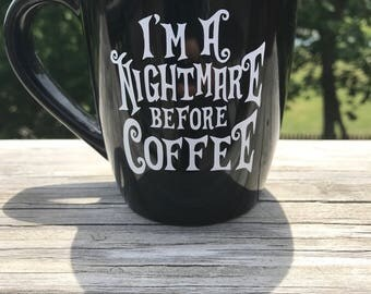Jack Skellington Coffee Cup 12 oz