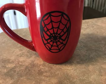 SpiderMan themed coffee mug