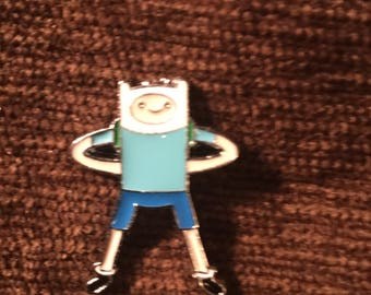 Adventure Time Finn the Human hat pin