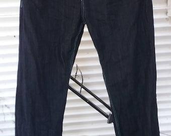 vintage red ape designer jeans