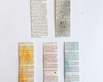 Double-sided Bookmarks