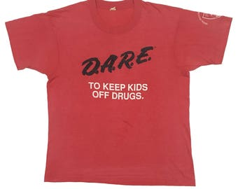 Vintage90s DARE to keep kids off drugs. FreeShipping
