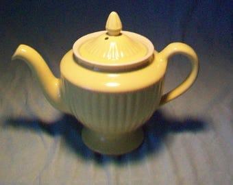 Hall Pottery Yellow Teapot