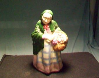 Coalport England Market Woman Figurine