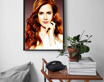 Amy Adams posters, Amy Adams, Amy Adams print, Home Decor, Wall art, Amy Adams gift, Movie Poster, picture poster, Amy Adams art