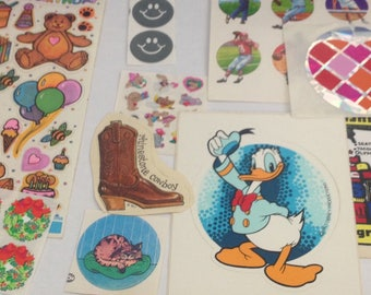 Lot Of Vintage  Mixed Stickers 1980s 80s #340
