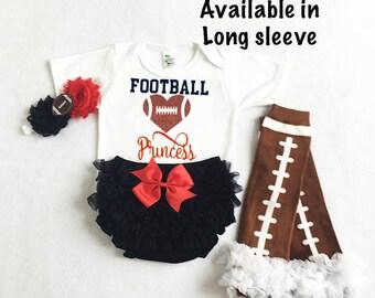 baby girl nebraska huskers football - nebraska huskers baby - nebraska huskers baby girl outfit - football leg warmers  - huskers baby girl