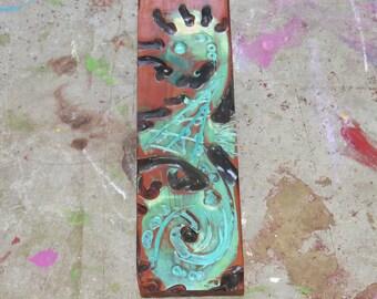 Wooden Fish Wall Decor wood fish wall art | etsy