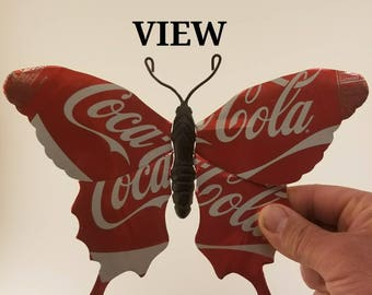 Coke Coca Cola Butterfly
