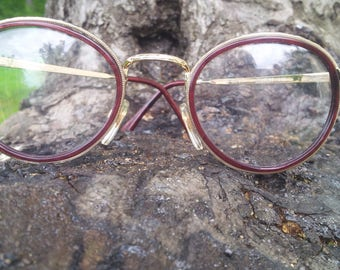 Metzler 7100 / Vintage 80' eyeglasses / made in Germany / pantos shape / NOS /