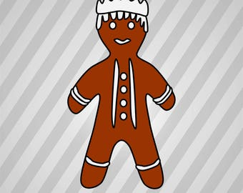 Gingerbread King (Wiseman) - Svg Dxf Eps Silhouette Rld Rdworks Pdf Png Ai Files Digital Cut Vector File Svg File Cricut Laser Cut