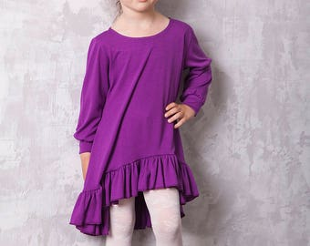 Purple dress-dress-child-baby-toddler-girl-fine dress-dresses-baby dress-toddler dress-girl dress