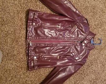 Plum color jacket