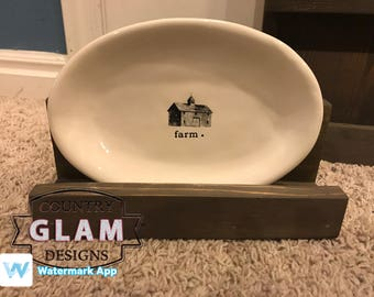 Rae Dunn Oval or Tray Display