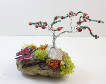 Wire Wrap Wishing Tree
