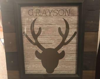 Custom made frames