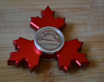 Maple Leaf Fidget Spinner