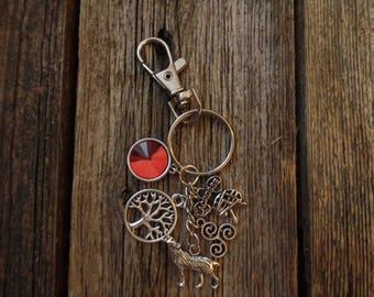 Teen Wolf Scerek Inspired Keychain