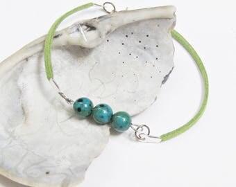 Green Esmeralda Bohemian fashion bracelet