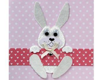 Naissane/birthday Bunny card