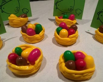 Mark up Easter nests, nests 8 multicolors