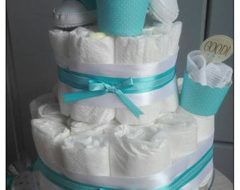 Cake layers and delicacies to offer at birth