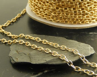 5 meters of gold chains
