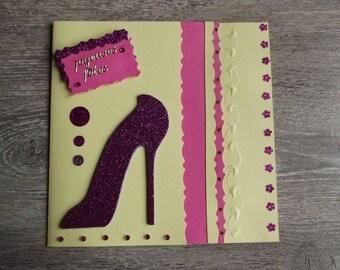 """Happy new year"" handmade card"