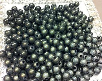 20 T25 charcoal magic beads