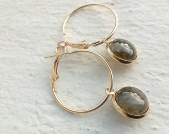 Creole gold and labradorite