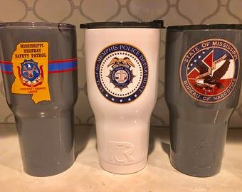 Law enforcement cups
