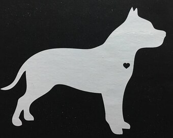 Pit Bill silhouette vinyl decal