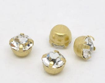 Bead lot for scrapbooking and creating - PS17 200 rhinestones