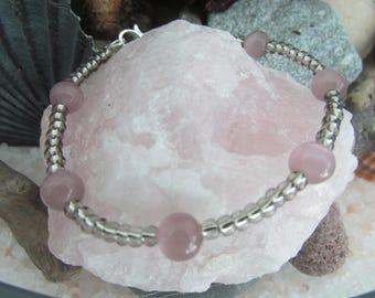 The cat eye beads bracelet