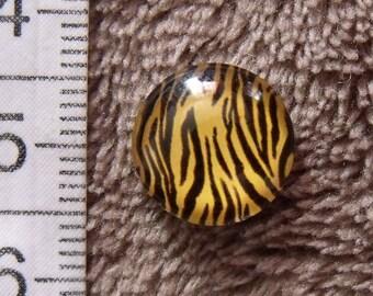12mm animal theme glass cabochon