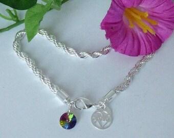 Chain bracelet in Silver 925/100