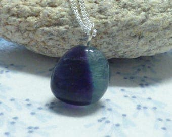 beautiful 925 sterling silver necklace and its beautiful fluorite