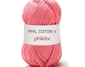 phildar yarn PHIL cotton 4 color berlingot yarn