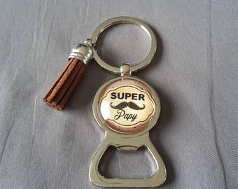 """key ring bottle opener """"great Grandpa"""" by lolaclarabijoux"""