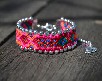 "Brazilian dish ""pampas"" (OOAK) bracelet"