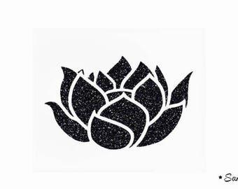lotus flower zen flex fusible