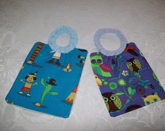 set of 2 bibs for Doll or doll