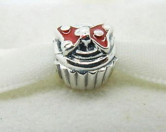 Genuine Pandora Disney Minnie Cupcake Charm 791463EN09