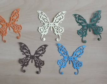 5 cuts butterflies for your scrapbooking creations