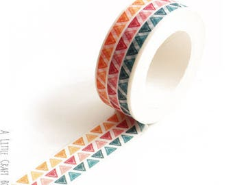 1 roll of washi tape - triangles