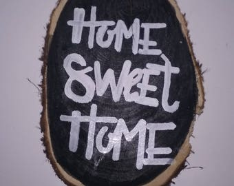 Home Sweet Home Cedar Wood Sign