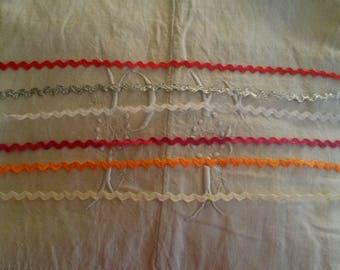 Set of 13 croquet m / 6 different colors